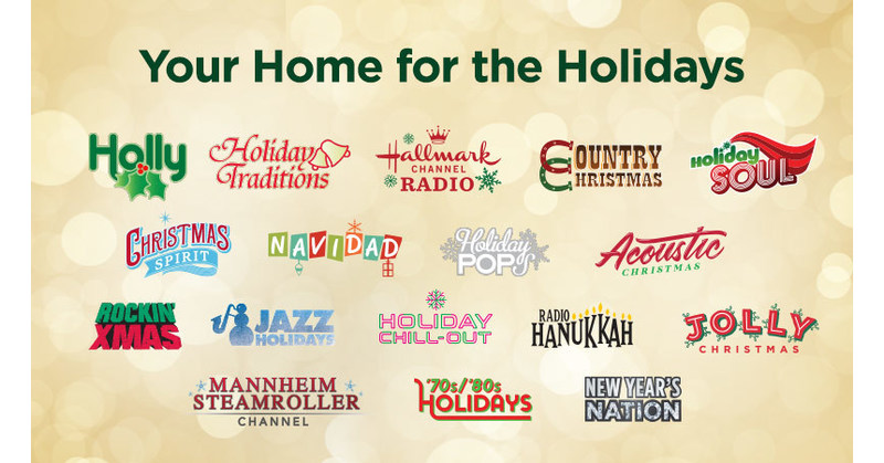 SiriusXM's Beloved Holiday Channels Arrive Early to Spread Cheer
