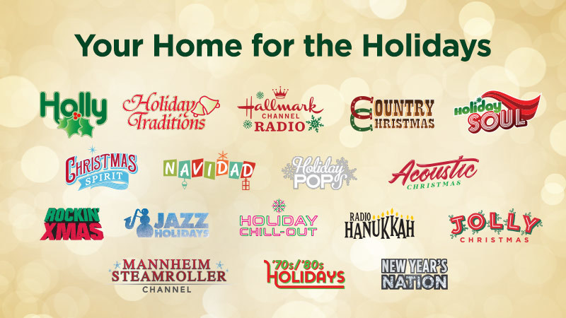 Siriusxm S Beloved Holiday Channels Arrive Early To Spread Cheer Across The Airwaves