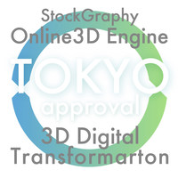 Tokyo Metropolitan Government approved the biz plan of StockGraphy Online3D tech for the industries