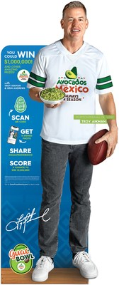 Avocados From Mexico partners with Troy Aikman in new campaign to inspire shoppers to take their love of game day guac to the next level.