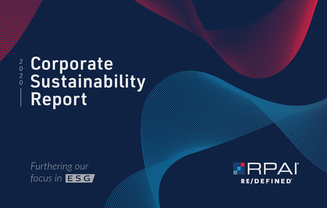 RPAI - 2020 Corporate Sustainability Report