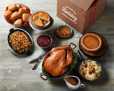Boston Market offers a wide array of complete Thanksgiving meals to feed gatherings of all sizes, including a complete Turkey dinner with stuffing, mashed potatoes and gravy, cranberry relish, dinner rolls and pies for dessert. Visit BostonMarket.com for more information.