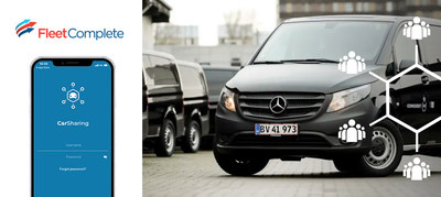 Danish Defence subscribed its 2,000 service vehicles for Fleet Complete's fleet management and carsharing solution. (CNW Group/Fleet Complete)