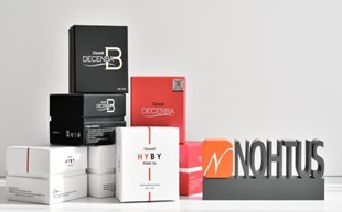 """Premium Meso Solution by NOHTUS """"HYBY"""" of pure PDRN 1%, """"DECENBA"""" for lipolysis,  """"Myc1ear"""" for whitening"""