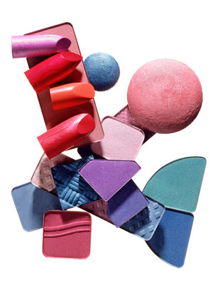 Presenting a kaleidoscope of colours, Royal Tech Beauty's full range of makeup includes lipsticks and glosses, eyebrow fixes, eye shadows and liners, mascaras, bronzers and blushes, highlighters and all kinds of primers.