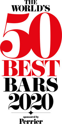 The World's 50 Best Bars 2020 Logo (PRNewsfoto/The World's 50 Best Bars 2020)