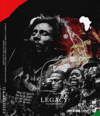 """Today, episode seven of Bob Marley's Legacy documentary series continues with """"Freedom Fighter,"""" a powerful new short featuring insight and interviews from some of the world's most respected artists, writers, activists, and filmmakers, each offering their own take on Bob's music, his message, and his unique power at uniting and articulating the long and painful journey from oppression and the struggles his brothers and sisters have endured over the years."""