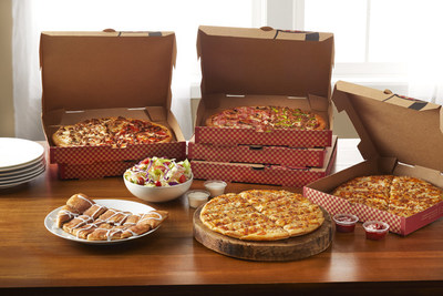 Pizza Inn announces the return of the popular Contactless Buffet To-Go. America's Hometown Pizza Place offers three value meals featuring unmatched variety with half-build pizzas, salads and dessert, available for carryout and delivery.