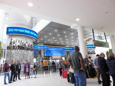 Rendering of John F. Kennedy International Airport (JFK)