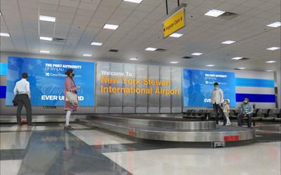 Rendering of New York Stewart International Airport (SWF)