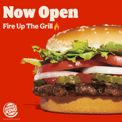 Burger King® opens 300th restaurant in Canada; major milestone exemplifies growth for the brand in the Canadian market (CNW Group/Restaurant Brands International Inc.)