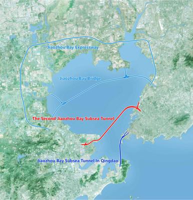 Qingdao Conson Development comienza la construcción del túnel de carretera submarino más largo del mundo (PRNewsfoto/Qingdao Conson Development)