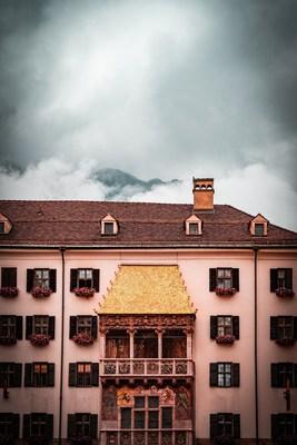 The Golden Roof covered in Clouds, Innsbruck, Tirol, Austria. Photo by Daniel Diesenreither on Unsplash