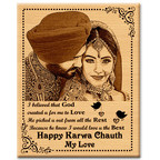 GFTBX brings Trendiest Personalized Gifts to celebrate and strengthen the eternal bond of love between husband and wife on Karwachauth