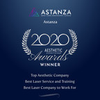 "Astanza wins ""Top Aesthetic Company"", ""Best Laser Service and Training"" and ""Best Laser Company to Work For"" in the Aesthetic Everything® 2020 Aesthetic and Cosmetic Medicine Awards"
