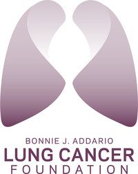 Bonnie J. Addario Lung Cancer Foundation logo. (PRNewsFoto/Addario Lung Cancer Foundation) (PRNewsFoto/Bonnie J. Addario Lung Cancer F)