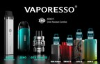 VAPORESSO becomes one of the first CRC-compliant vaping brands in Canada