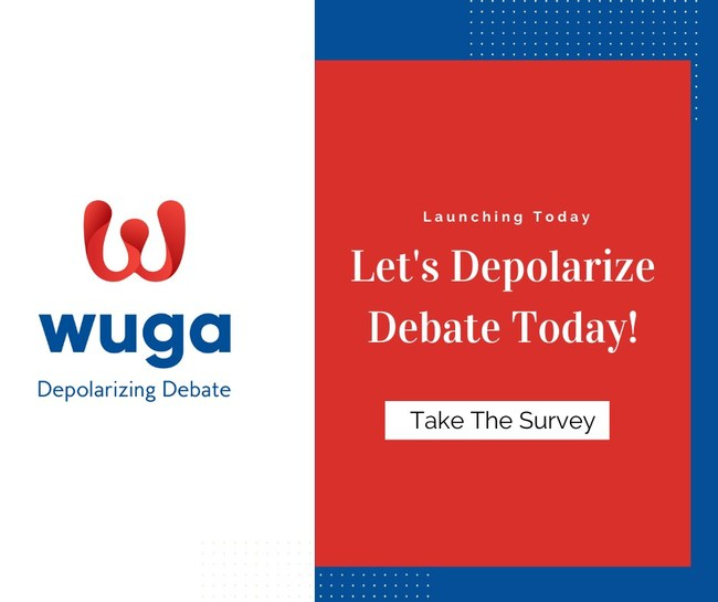 Wuga's Web-App is Depolarizing Debate Prior to The Election.