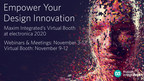 Empower Your Design Innovation by Attending Maxim Integrated's Virtual Booth at electronica 2020