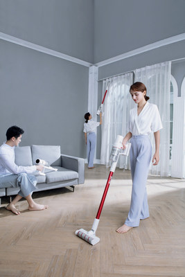 TROUVER to Launch Cordless Vacuum Cleaner Solo 10 in Russia. (PRNewsfoto/TROUVER)