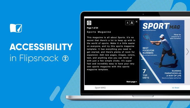 Flipsnack is the First Publishing Platform to Enable Accessibility