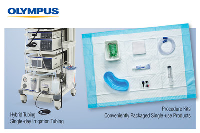 Olympus introduces Procedure Kits and Hybrid Tubing, solidifying its position as a total solutions provider in Endoscopy.