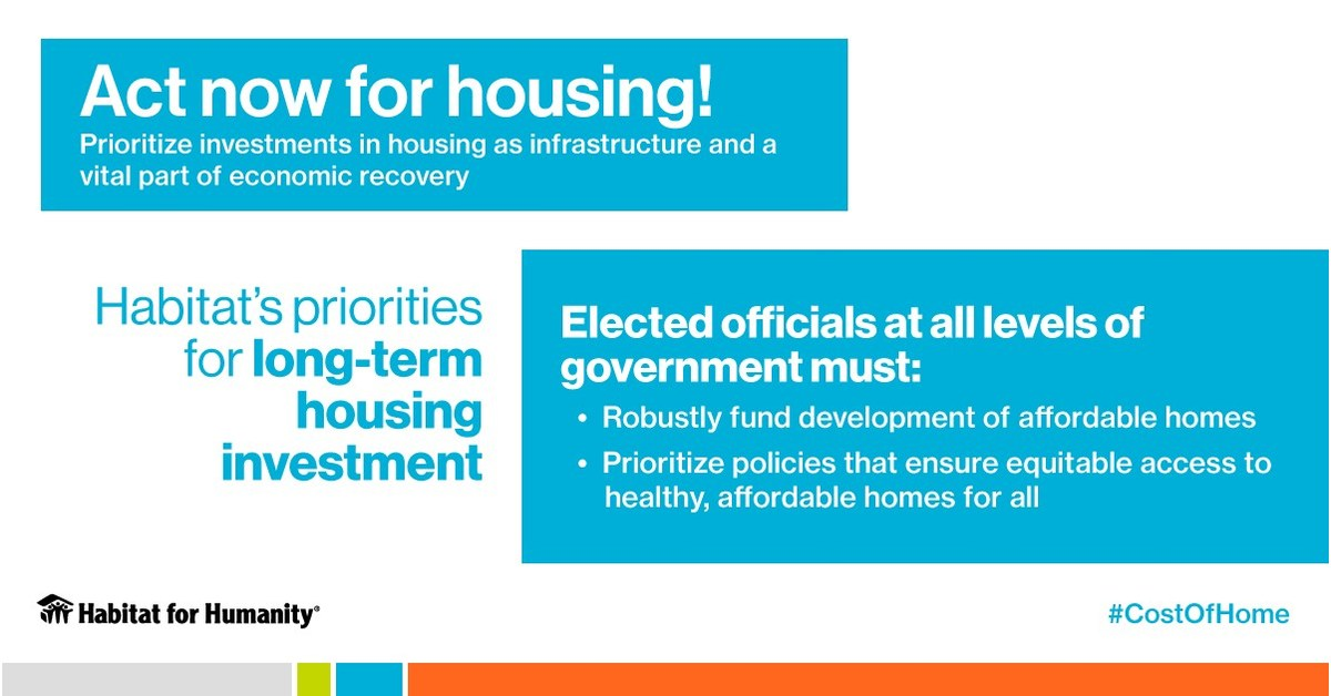Habitat For Humanity With Voting Behind Us Elected Officials Must Get To Work On Housing