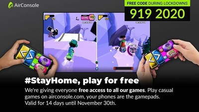 AirConsole: #StayHome, play for free