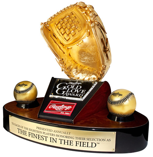 Rawlings Gold Glove Award recognizing the best defensive performance at each position.