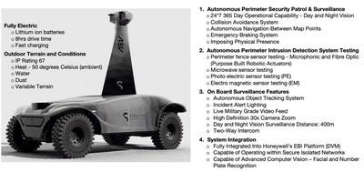 Stealth Technologies ASV vehicle