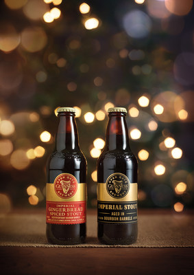 Guinness Imperial Gingerbread Spice Stout and Guinness Imperial Stout can be found on shelves across the US for a limited time.