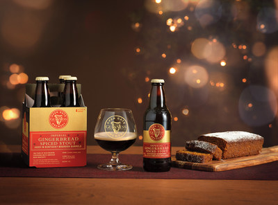 Guinness announces their new Gingerbread Stout from the Guinness Open Gate Brewery in Baltimore.