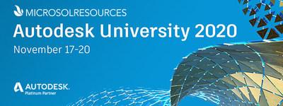 Microsol Resources at Autodesk University 2020
