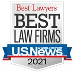 """Bostwick & Peterson ranked in 2021 """"Best Law Firms""""..."""