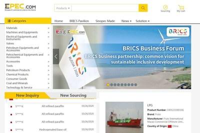 Sinopec's e-commerce platform Epec.com closes deals totaling nearly USD 40 billion.