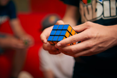The Rubik's Cube is the world's most popular puzzle (Credit: Rubik's Brand)