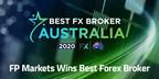 FP Markets recognised as 'Best FX Broker Australia' for 2020