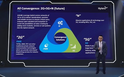 Simon Yin, general manager assistant of Hytera Americas, shared with attendees Hytera's insight of how the critical communications sector is to move forward in the 5G era.