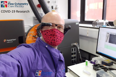 Vuzix Smart Glasses Enables Continuous Research of Blood Cells and the COVID-19 Virus at Newcastle University