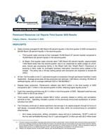 Paramount Resources Ltd. Reports Third Quarter 2020 Results (CNW Group/Paramount Resources Ltd.)
