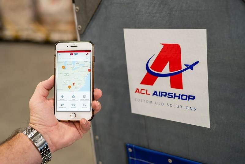 ACL Airshop free App called FindMyULD can help airlines, handlers, and cargo facilities more efficient and faster with ULD logistics end-to-end across the air cargo ecosystem.