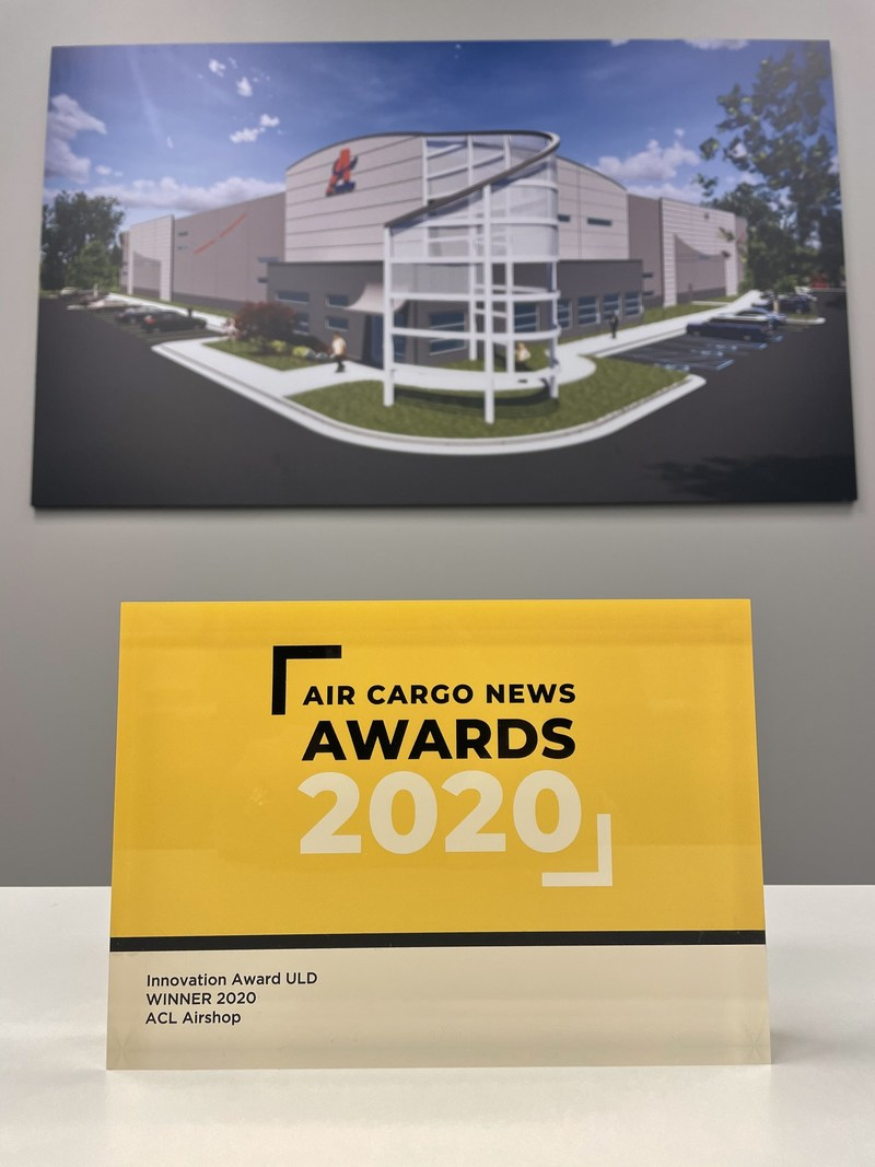 ACL Airshop wins the 2020 Innovation Award from Air Cargo News magazine!  For more information visit www.FindMyULD.com and www.ACLairshop.com.