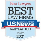 """Givens Law Group Earns Tampa Metro Tier 1 Ranking in 2021 """"Best..."""