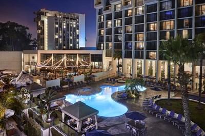 Newport Beach Marriott Hotel & Spa Image Credit: Werner Segarra Photography