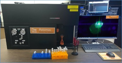 The Potomac flow cytometer is a flexible platform designed for ease of modification and upgrades. Customizable from 1 to 8 lasers and from 4 to 20 detection channels, it can accommodate novel light sources, detectors, and fluidics.