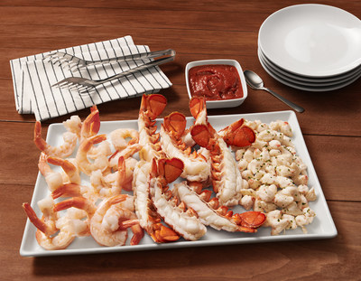 Red Lobster is offering a variety of new and easy solutions to indulge in the season with seafood, including NEW! Holiday Party Platters such as NEW! Chilled Holiday Seafood Platter, NEW! Shrimp Lover's Holiday Platter and NEW! Lobster Claw Platter available To Go or delivery from RedLobster.com.
