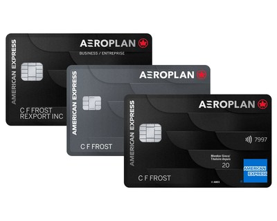 American Express Canada launches redesigned Aeroplan Cards to elevate the travel experience (CNW Group/American Express Canada)