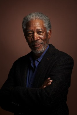 Oscar-winning actor, humanitarian and activist, Morgan Freeman, keynote speaker at the World Innovation Summit for Health 2020 (Photo credit: Nigel Parry)