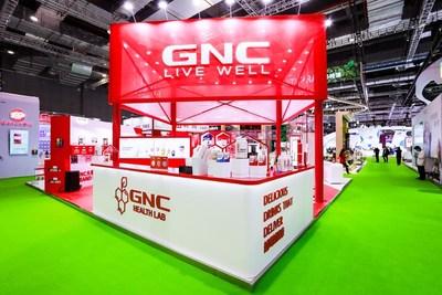 GNC at the 3rd China International Import Expo(CIIE) (PRNewsfoto/健安喜中国)