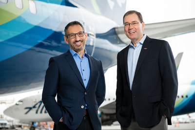 Alaska Airlines today announced Brad Tilden (right) will retire as chief executive officer on March 31, 2021, and Ben Minicucci (left), president of Alaska Airlines and a member of the Alaska Air Group board, will succeed him. Tilden will continue to serve as Alaska's board chair.